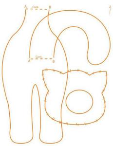 Двулапый кот тильда