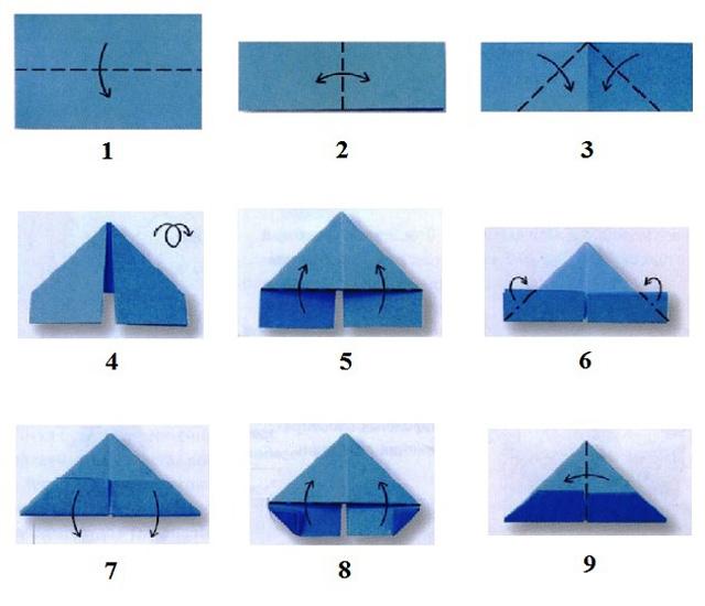 модульное оригами Обезьянка