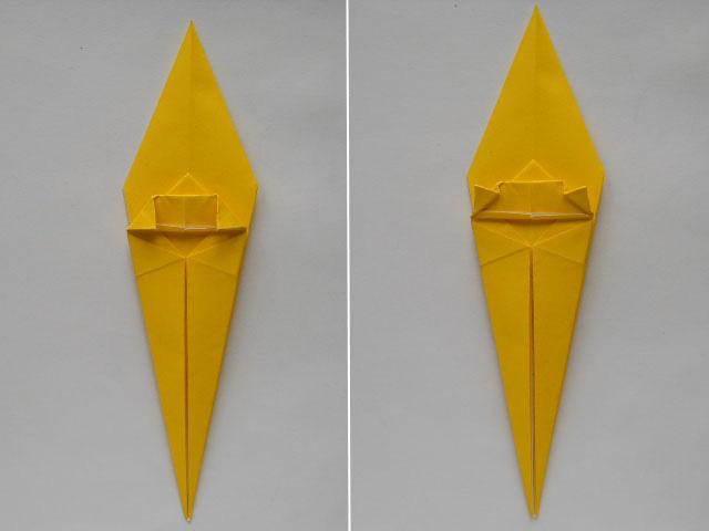 Обезьяна оригами-10
