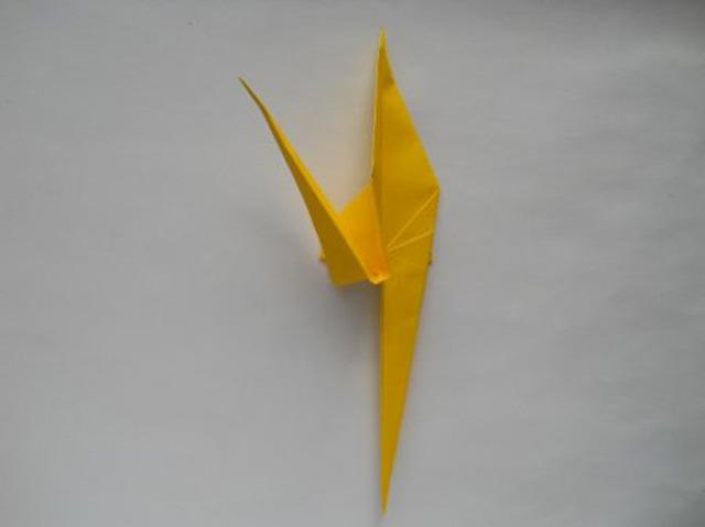 Обезьяна оригами-12