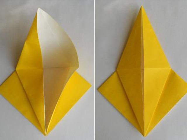 Обезьяна оригами-3