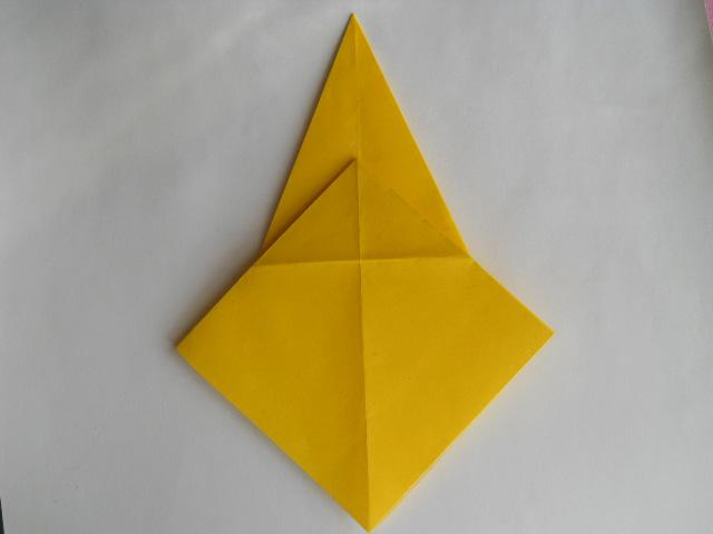 Обезьяна оригами-4