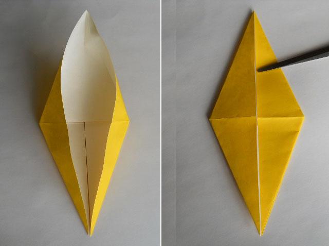 Обезьяна оригами-5