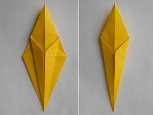 Обезьяна оригами-6