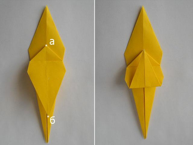 Обезьяна оригами-7