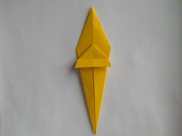Обезьяна оригами-9