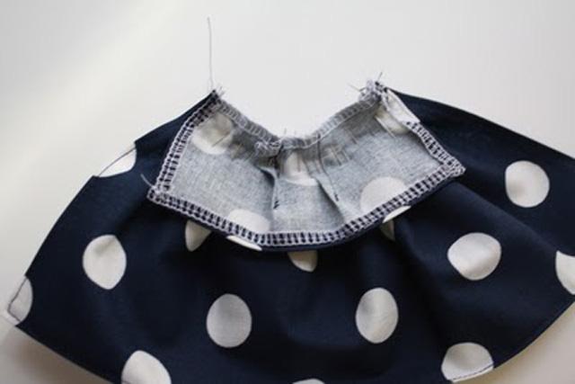 Как сделать платье для куклы Барби одежда без шитья по выкройке своими руками
