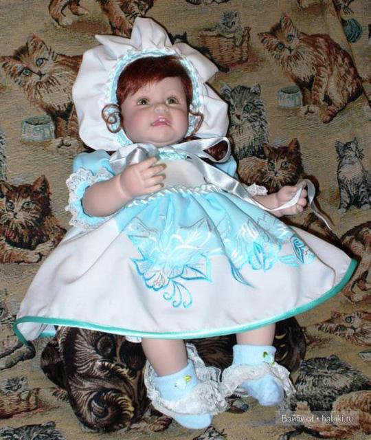 Платье и чепчик