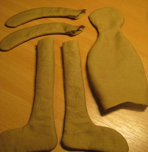 Стоячий зайка тильда-5