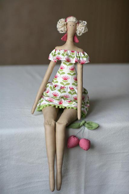 текстильная тильда-3