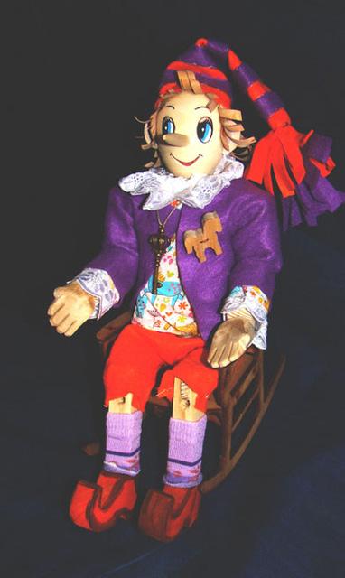Деревянный Буратино своими руками-10