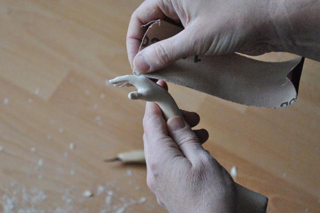 Деревянный Буратино своими руками-8