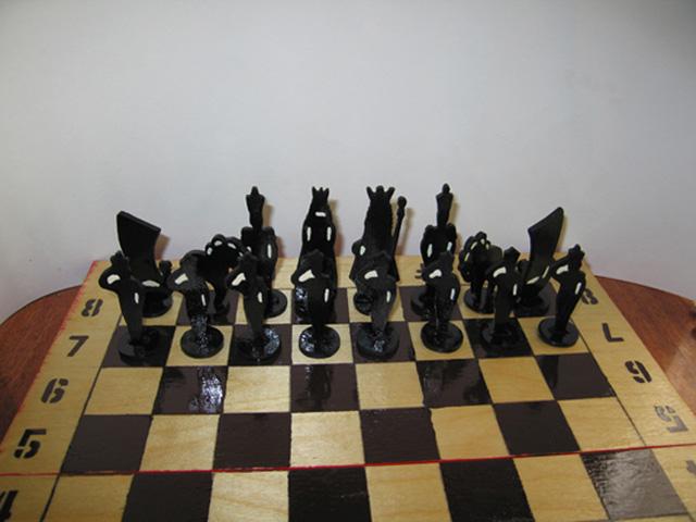 шахматы своими руками-5