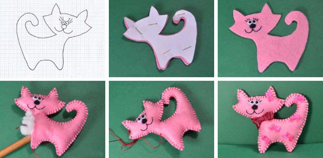 Поделки из фетра пошаговая инструкция