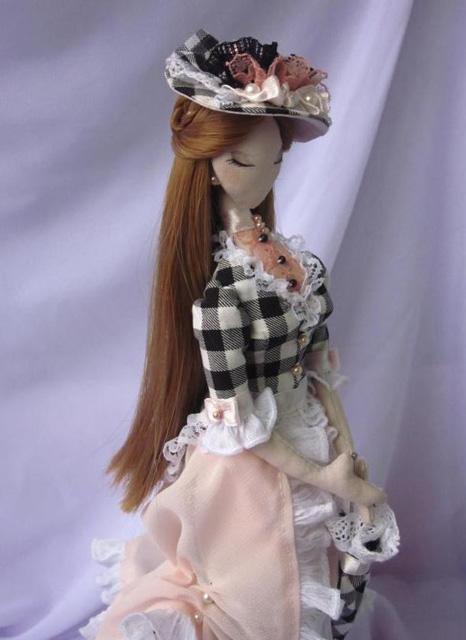 Шляпки для кукол мастер класс подробно #11