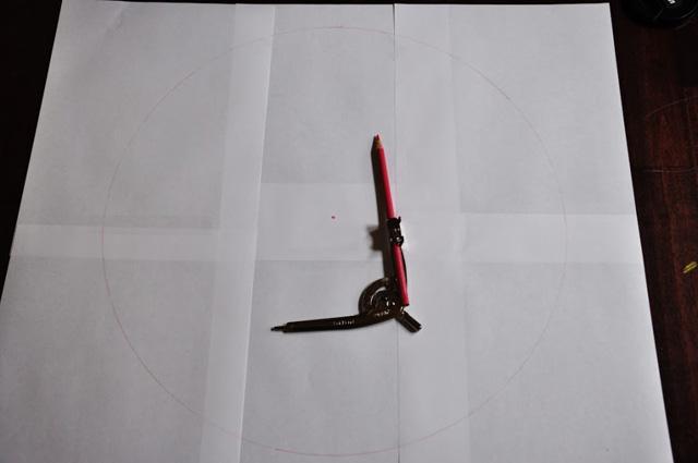 круглого пуфа с ручкой-3