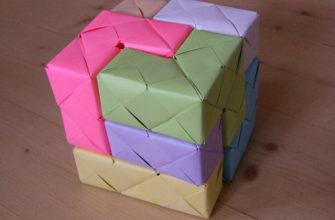 развивающие кубики своими руками