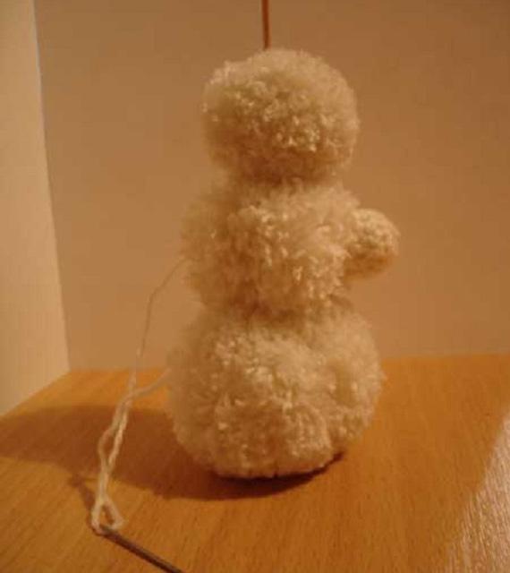 Белый снеговик-3