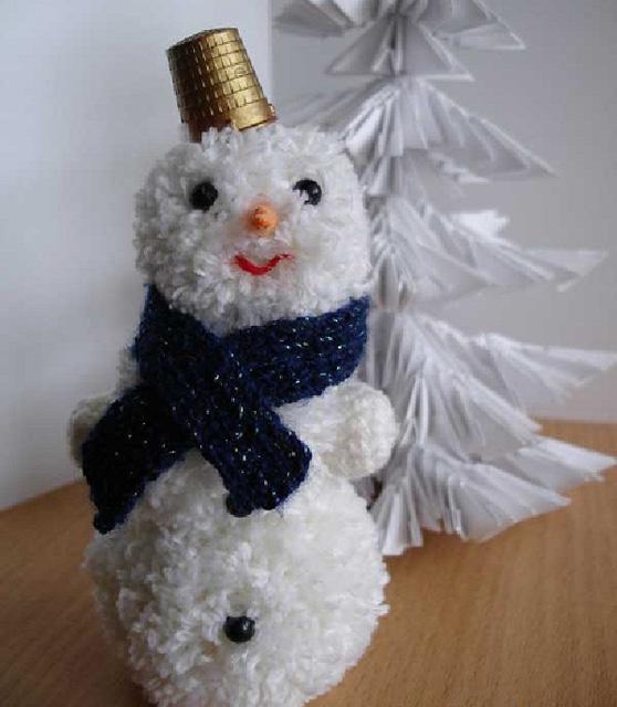 Белый снеговик-4