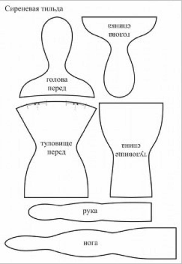 Как сшить тильды вручную