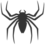 Spiderman_back_logo_by_navdbest-d5iogb0