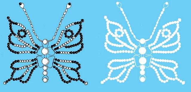 Ажурная бабочка