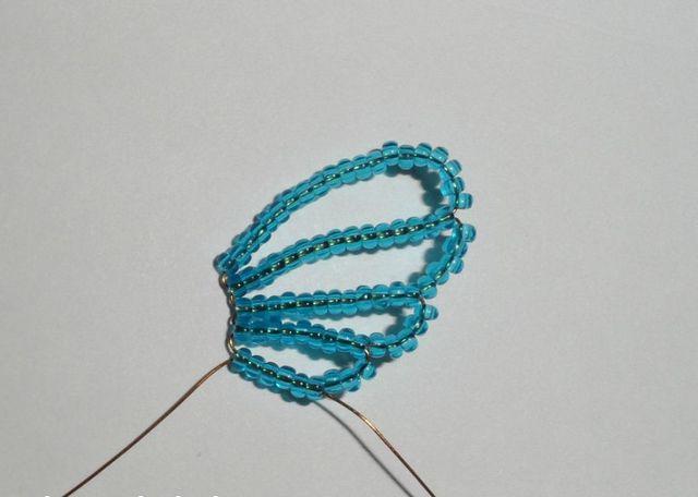 Голубая бабочка-5