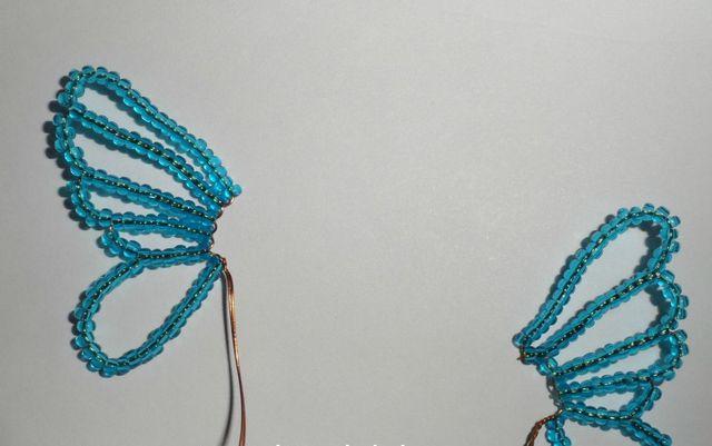 Голубая бабочка-7