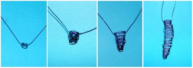 стрекоза из бусинок-2