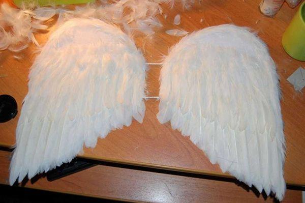 Как сделать крылья ангела своими руками в домашних условиях