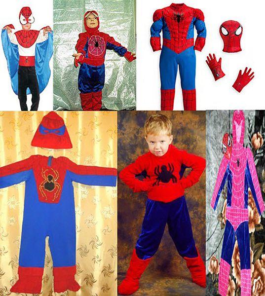 варианты костюма спайдермена