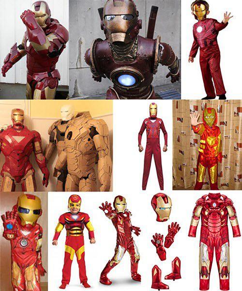 Как сделать костюм железного человека из бумаги фото 459