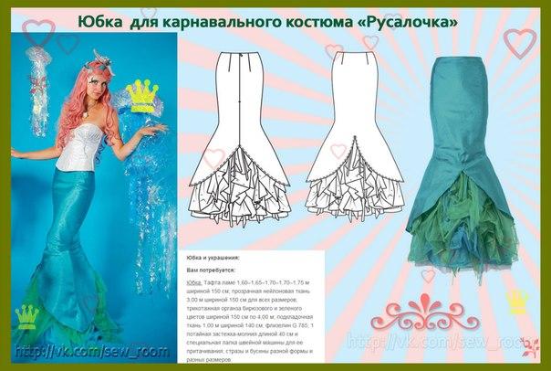юбка для костюма