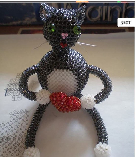 Объемный котик