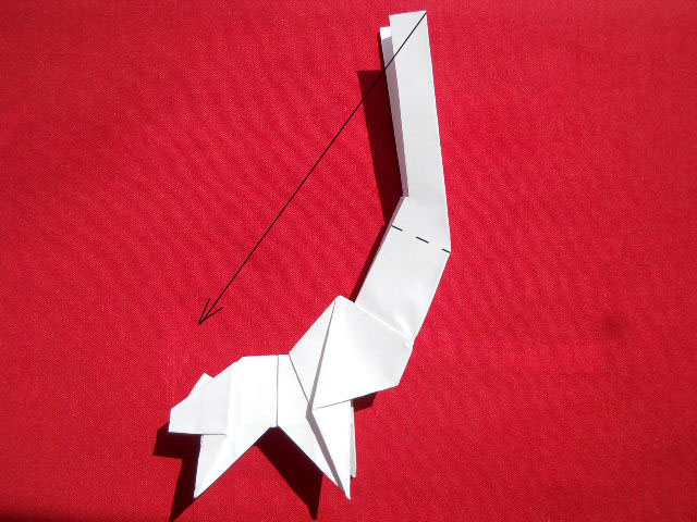 Олень оригами-14