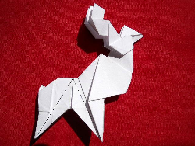 Олень оригами-17