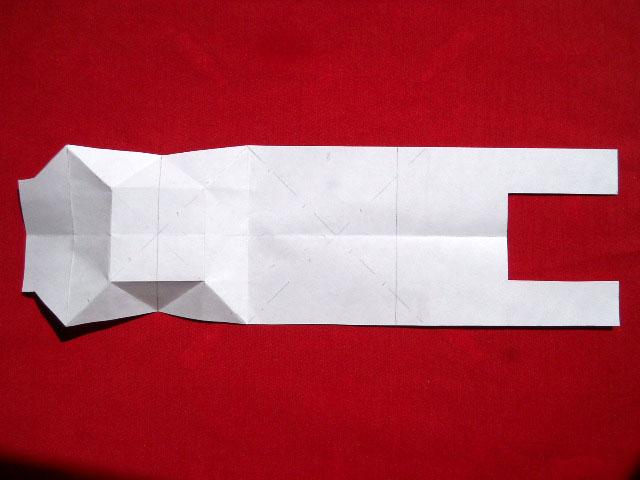 Олень оригами-3