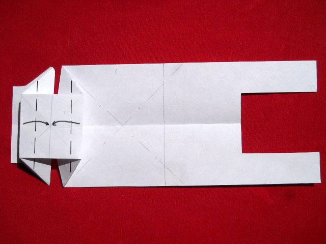 Олень оригами-4