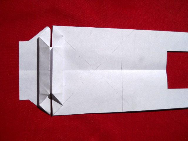 Олень оригами-5