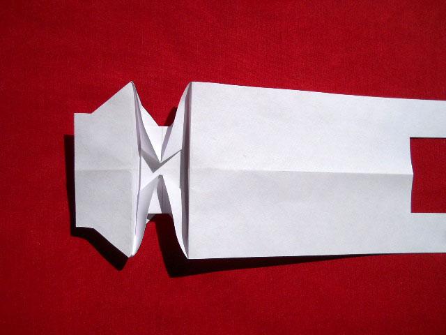 Олень оригами-7