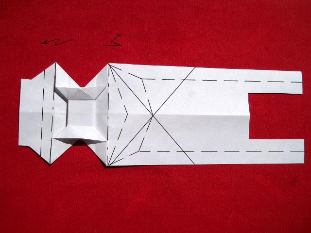 Олень оригами-8