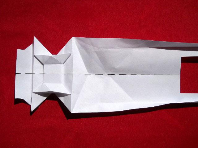 Олень оригами-9