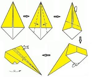 Снегурочка оригами-4