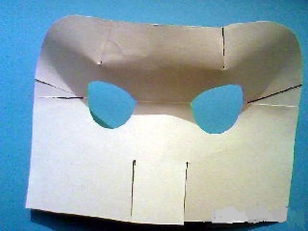 Делаем маску кота