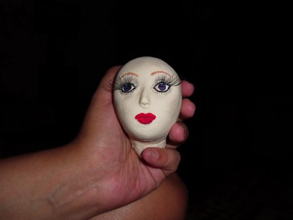 Раскрашиваем лицо