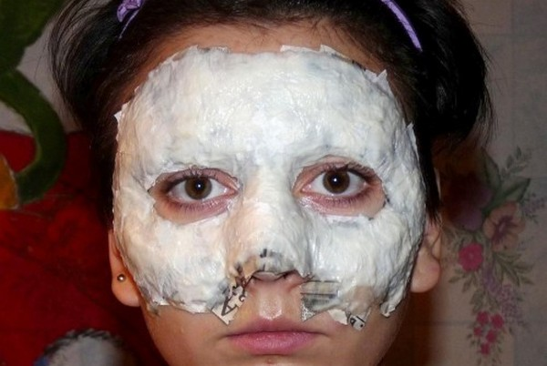 Заготовка на лице