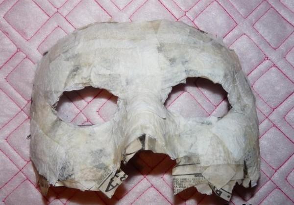 Сушим маску
