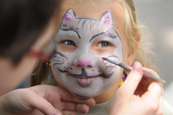 Нарисованная маска