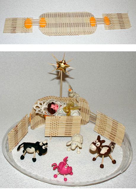 Рождественские вертепы своими руками-11