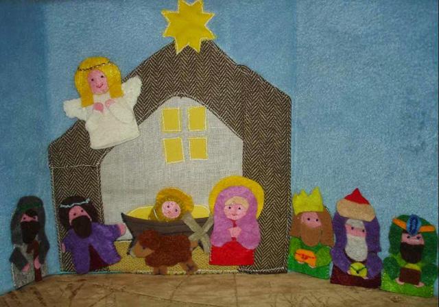 Рождественские вертепы своими руками-13